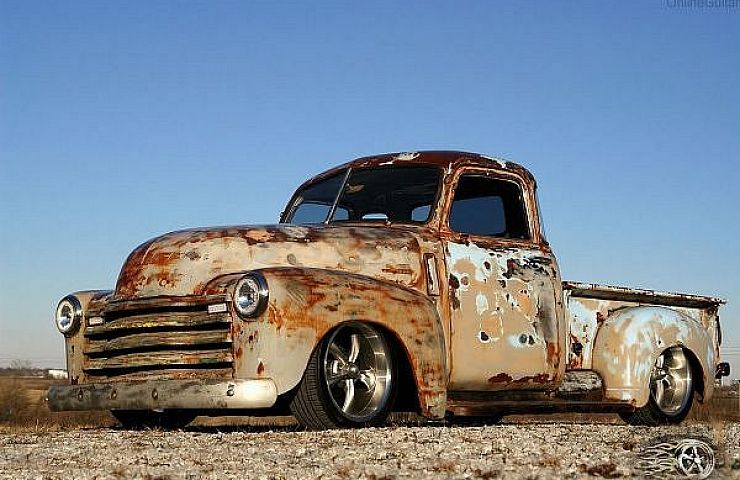 Gorgeous 1948 Chevy Truck Combines Aged Patina And Modern